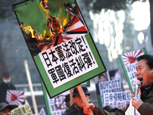 Chinese Media Condemns Japan's Prime Minister For Paying Homage To 'Devils'