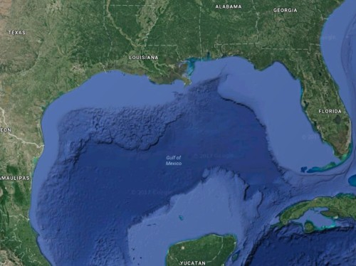Gulf of Mexico sets a new record for the world's largest 'dead zone'