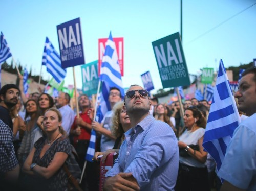 As Greece starts to vote there's a sense of dread about what's coming next