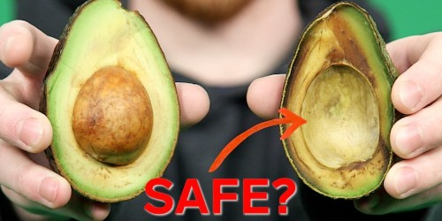 Why it's okay to eat the brown part of an avocado