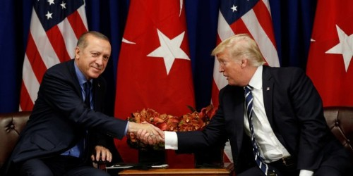 Trump doesn't want to punish Turkey for Russia deals, but threatened Germany