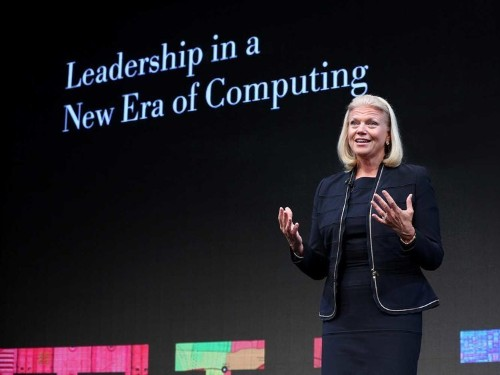In another brilliant move, IBM just budgeted $1 billion to take down EMC
