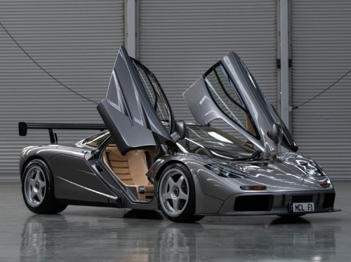 1994 McLaren F1 auctioned for a record-breaking $19.8 million