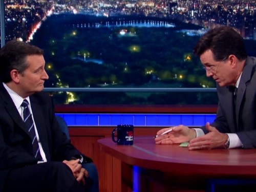 Ted Cruz got booed on Stephen Colbert's show while talking about gay marriage
