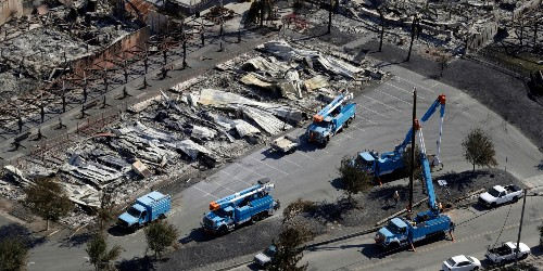 Utility PG&E to shut off power to 800,000 in northern California - Business Insider