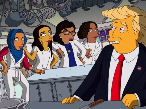 'The Simpsons' mocks Trump's ongoing feud with 'the Squad' in 'West Side Story' parody