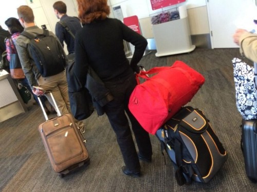 Fliers Who Pack Too Much Are Being Publicly Shamed