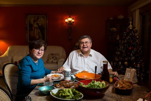 Photos show how different family meals look in busy homes across America