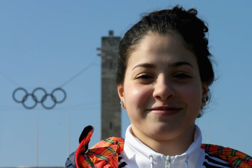 Last year this Syrian refugee was swimming across borders — now she's training for the Olympics