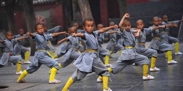 Incredible photos show Shaolin Monastery, the home of kung fu - Business Insider