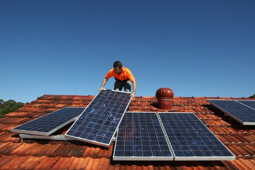 The middle class is starting to go solar