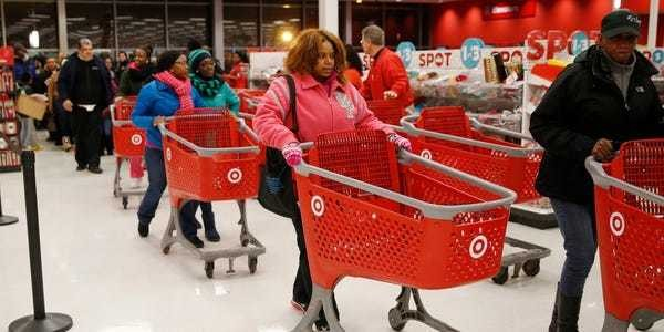 Target stock price falls 7% on weak holiday sales, cut forecast - Business Insider