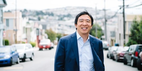 Andrew Yang is running for president in 2020. Here's everything we know about the candidate and how he stacks up against the competition.