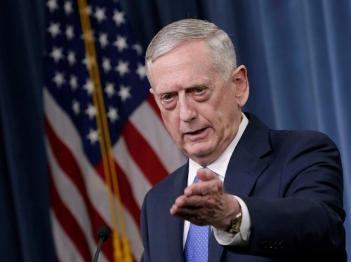Mattis personally intervened in Trump's budget request to get more bombs to drop on ISIS
