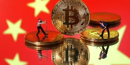 Investors have been plowing money into bitcoin since the start of the US-China trade war