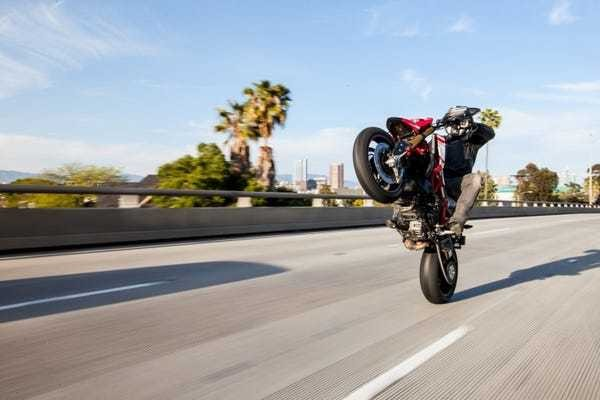 This new Ducati delivers the pure fun and excitement that motorcycles are all about - Business Insider