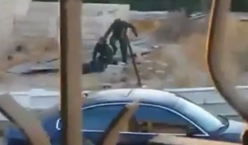Chilling Video Appears To Show Israeli Police Brutally Beating Palestinian-American Teenager