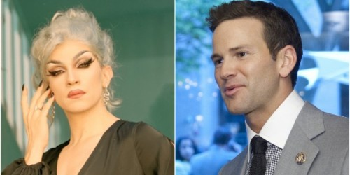 We talked to the drag queen that confronted former Rep. Aaron Schock