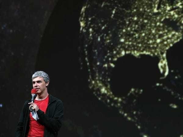 The last major public speech from Google cofounder Larry Page offers a fascinating hint at what he could do next