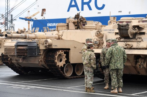 US military builds up force on NATO's eastern flank to deter Russian aggression
