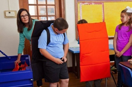 Now You Can Buy A Bulletproof Blanket Specifically Made For Kids To Use During School Shootings