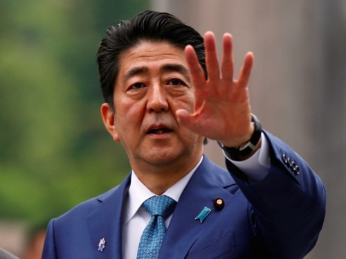 Japan's prime minister is warning world leaders about a 'Lehman-scale crisis'