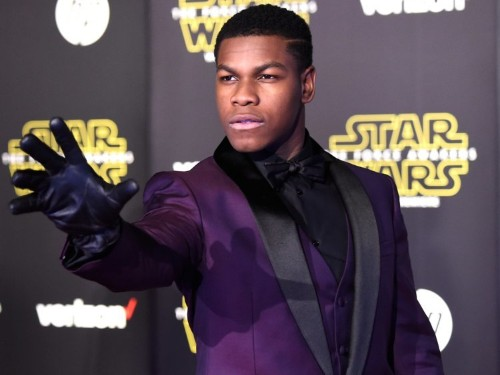Before 'Star Wars,' John Boyega used to be a stock photo model
