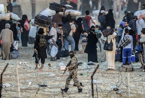A year on, no quick fix to halt IS 'caliphate'