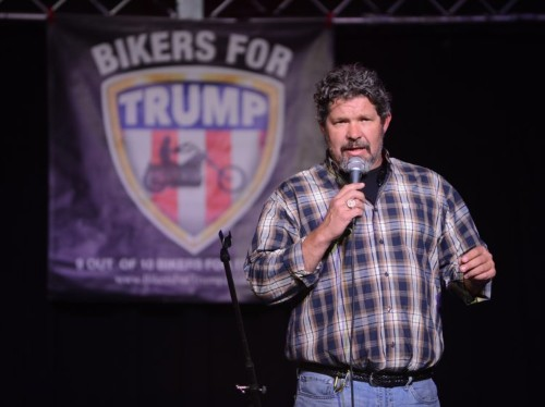 Pro-Trump bikers and truckers are planning a forceful presence at the Republican National Convention