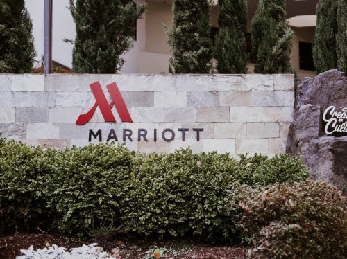 The brand-new Marriott Rewards card is offering a 100,000-point sign-up bonus – enough for a free 5-night hotel stay or more