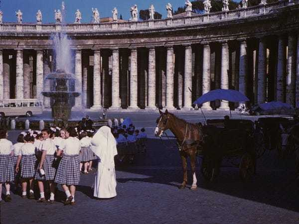 21 gorgeous vintage photos that show what Rome looked like in the 1960s - Business Insider