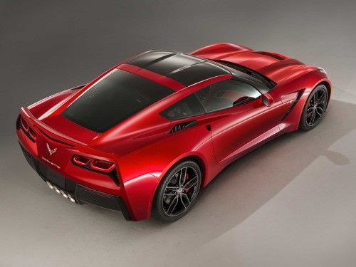 the Corvette Stingray