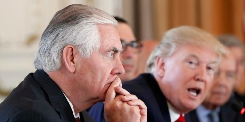 Trump and Putin's first meeting embarrassed the US, Rex Tillerson says