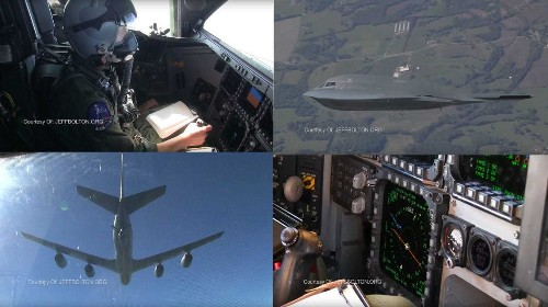 Unpublished video takes you inside the cockpit of a B-2 stealth bomber - Business Insider