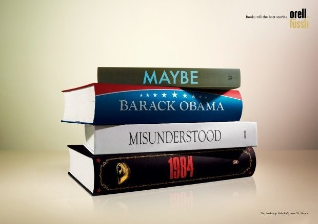 Swiss Bookstore Pokes Fun At Obama With Viral Advertisement