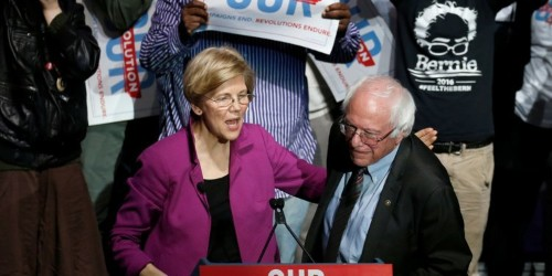 Bernie Sanders' 2020 campaign has hit a wall while rivals like Elizabeth Warren are rising rapidly