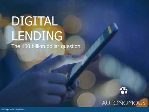 Digital lenders have a $1 trillion opportunity ― this slidedeck has everything you need to know about them