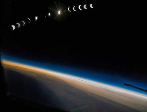 An Air Force pilot took a U-2 spy plane to the edge of space — and the photos are incredible