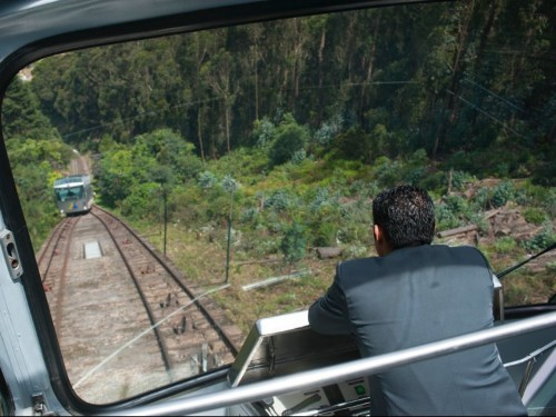 I took a 90-year-old funicular 10,300 feet above sea level in Bogotá — here's what it was like