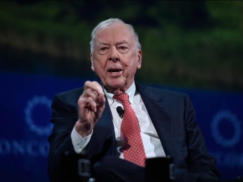 Billionaire T. Boone Pickens's final message before he died