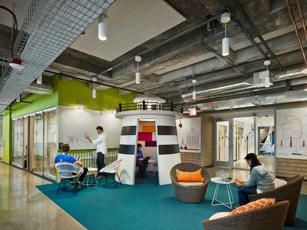 Google's Cambridge office nods to some of the city's most iconic spots - Business Insider