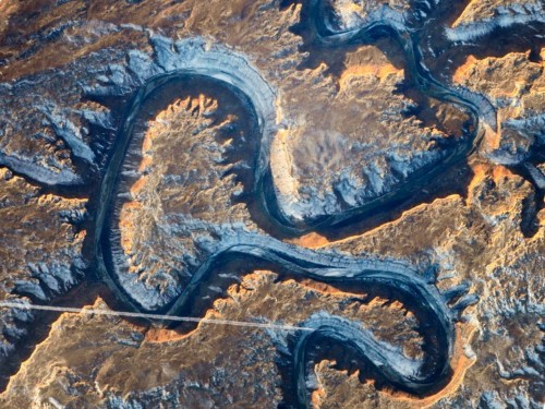 26 stunning images of Earth from space that contain letters of the alphabet