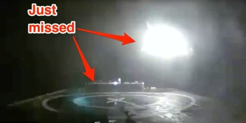 Video: SpaceX rocket booster crashes, explodes during launch