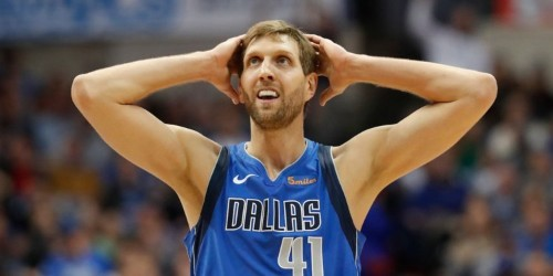 Adam Silver roasted Dirk Nowitzki at his All-Star Weekend press conference