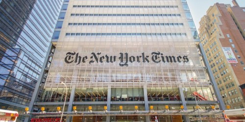 Verizon and The New York Times are partnering to give low-income high schoolers free news