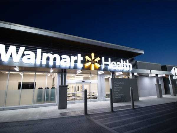 Photos of Walmart's new health clinic in Dallas, Georgia - Business Insider