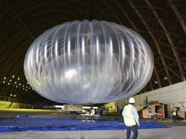 Google's Project Loon balloons to provide internet, cell for Puerto Rico - Business Insider