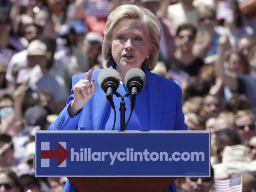 Hillary Clinton just took a big swipe at hedge funds