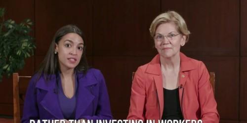 Elizabeth Warren endorses candidates in Alexandria Ocasio-Cortez mold