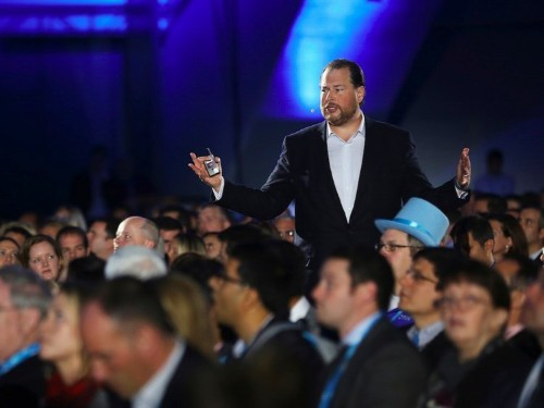 Salesforce CEO Marc Benioff built a $50 billion empire by following 7 lessons from his mentor turned nemesis Larry Ellison